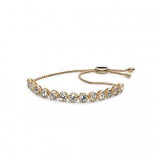 Oliver Weber Women soon style new gold bracelet with Swarovski Crystals