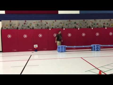 Agility and plyometric course