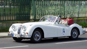 Jaguar XK 140 DHC 1956 Royalty Free Stock Image  Large-format photo to download from Dreamstime.