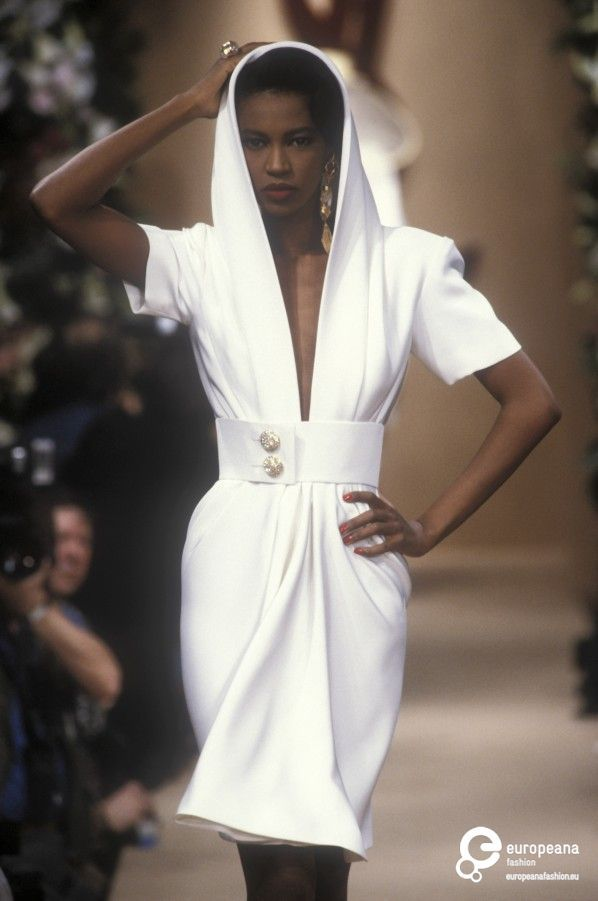 Yves Saint Laurent, Spring-Summer 1991, Couture                                                                                                                                                                                 More