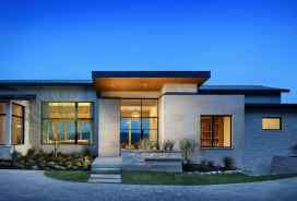 Modern Single Story Homes Design Unique Single Story Modern House