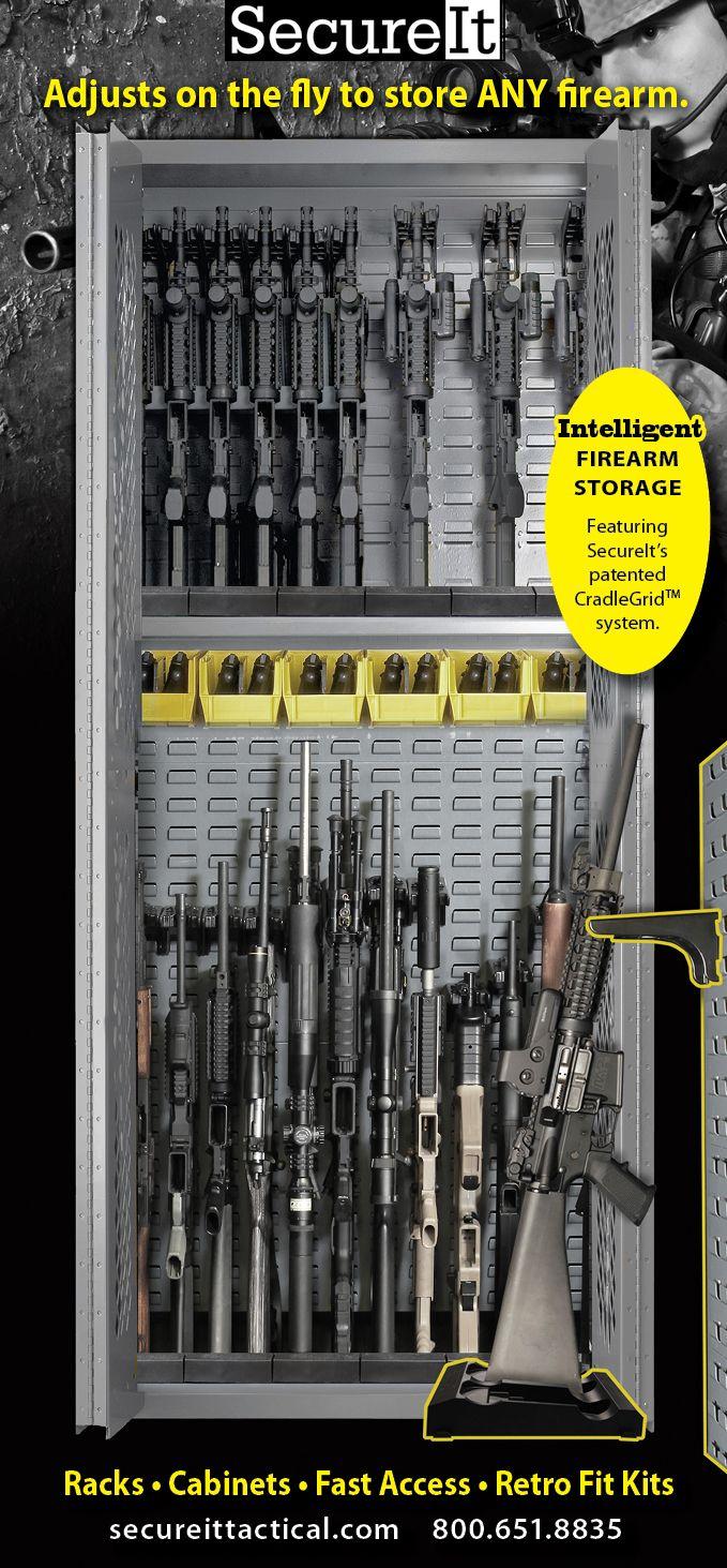 secureit knows military weapon storage