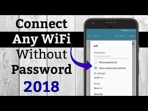 How to Connect Any WiFi without Password 2018 - YouTube | Odd ones