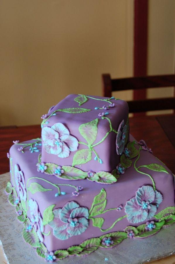 Meu bolo de exibição para o dia das mães!
