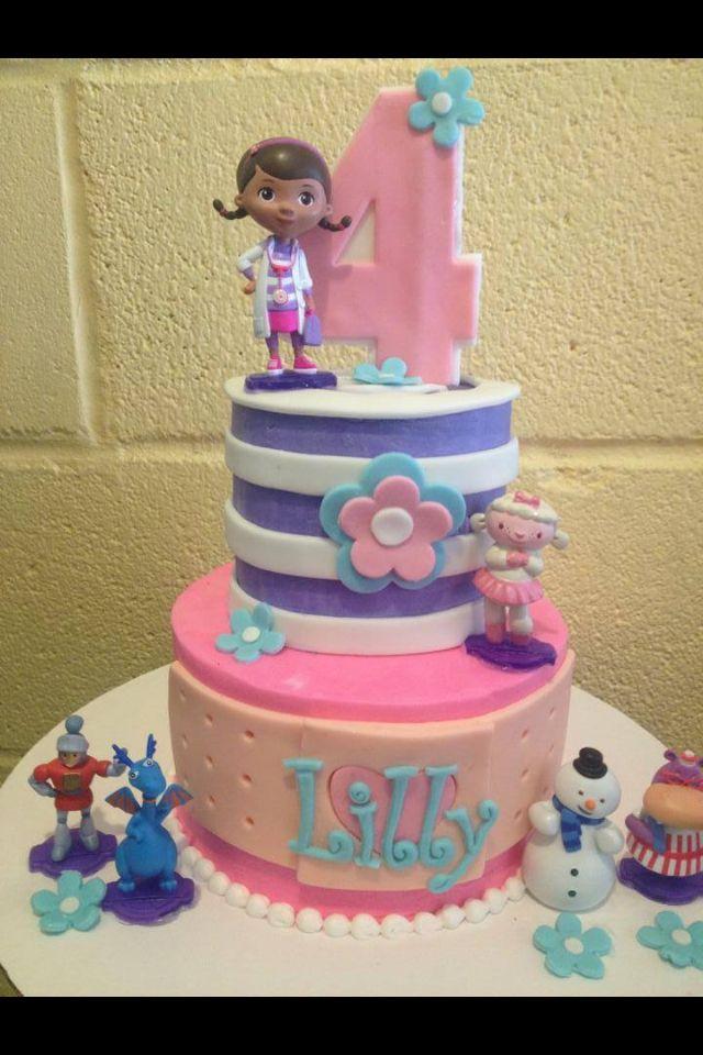 Doc McStuffins cake ideas:):)