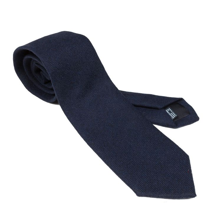 Drakes Cashmere tie Navy – Frans Boone Store