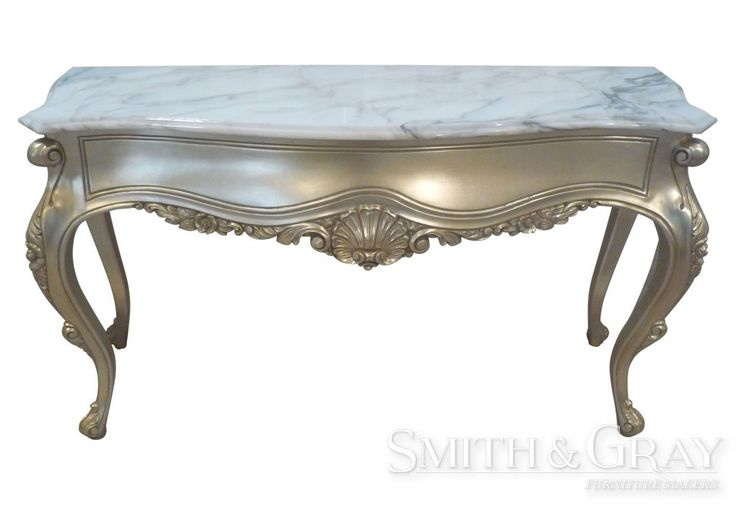At Smith and Gray Furniture Makers (Brisbane, Australia) we make custom furniture to suit your needs. Custom Made Louis French-inspired Master crafted hall table hand carved leg and scroll foot by Smith and Gray - See more at: www.smithandgray.com.au