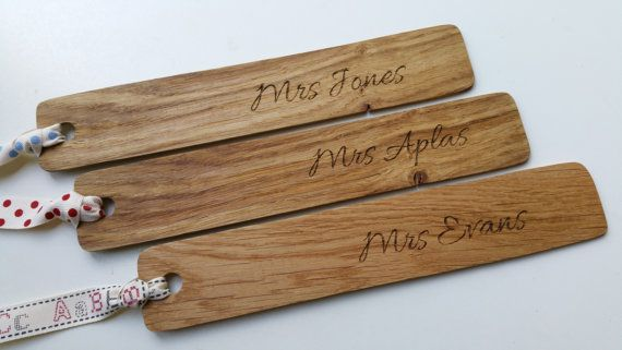 Personalised teachers gifts Personalised by CottageCoppicing