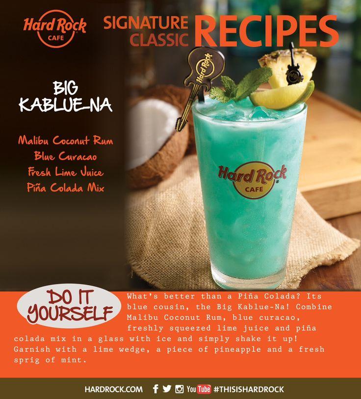 Big Kablue-na Recipe! #TryToRockIt #HomeMade #Cocktail