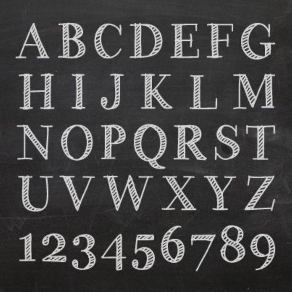 黒板とチョークで簡単にできるチョークアート。いろいろなフォントやライン、枠、イラストを組み合わせて、さらにオシャレにしちゃいましょう♪(2ページ目)