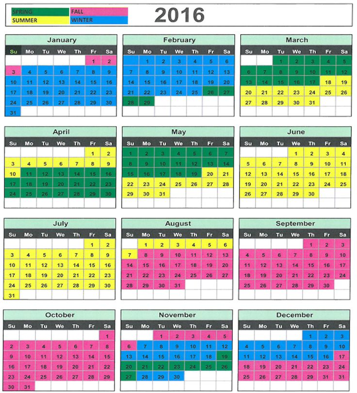 term calendar template