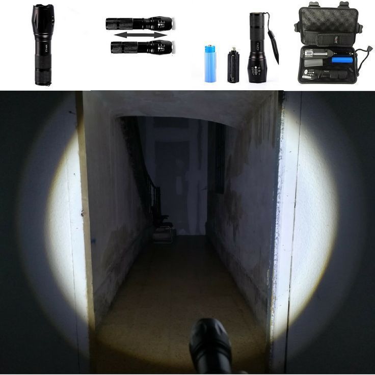 10000 Lumens 5 Modes Led Zoomable Waterproof Tactical Flashlight Get The Only Flashlight You Wi Tactical Flashlight Camping Lights Tactical Flashlight Military