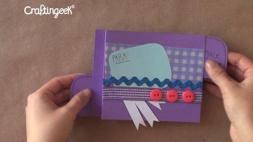 Blog tarjeta pop up sorpresa wipe tutorial f te des - Manualidades para hacer tarjetas ...