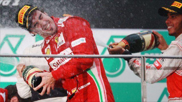 Alonso wins Malaysian Grand Prix