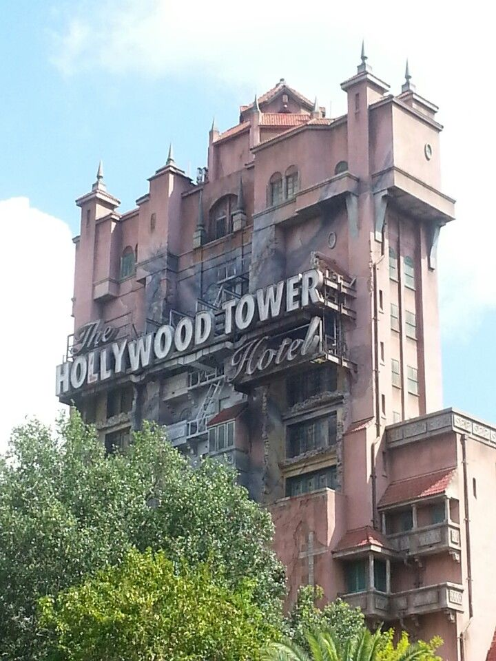Twilight Tower of Terror at Hollywood Studios