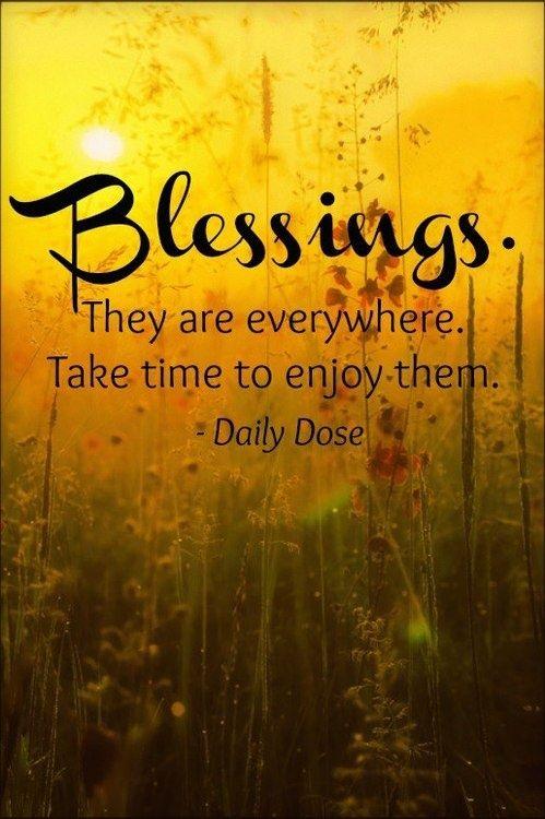 Blessings..