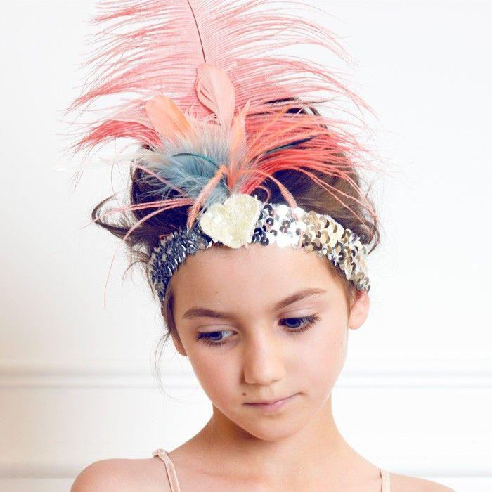 tutu du monde lovechild feather headband - jewelry - accessories   Thumbe Line
