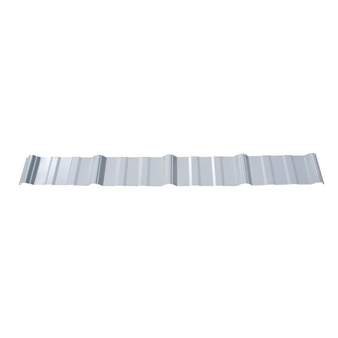 Union Corrugating 3 17 Ft X 8 Ft Ribbed White Steel Roof Panel In The Roof Panels Department At Lowes Com In 2020 Steel Roof Panels Metal Roof Panels Roof Panels