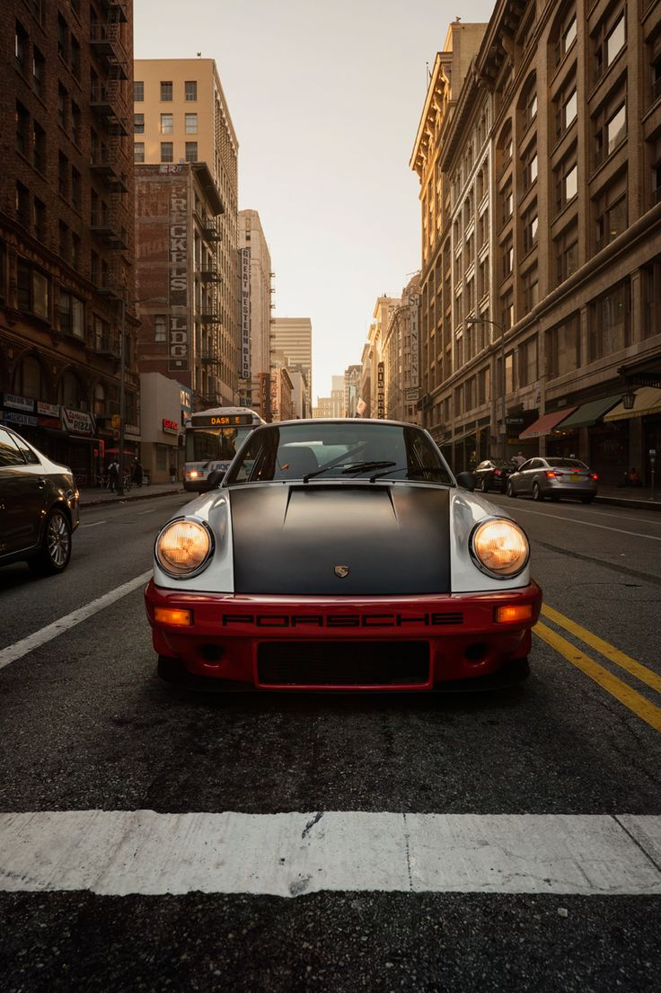 Porsche 911 ride along down town