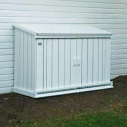 Outdoor Wooden Garbage Can Storage Bin Provide Attractive Waste Storage Solution