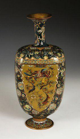 19th C. Japanese Cloissone Vase