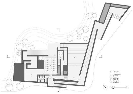 Suzhou Chapel,1F Plan