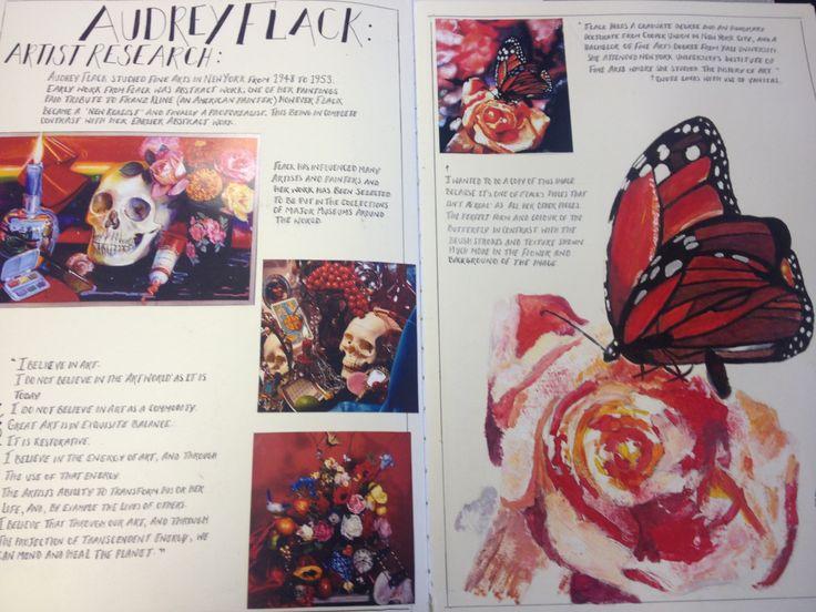 Page 13 - Audrey Flack artist research/copy