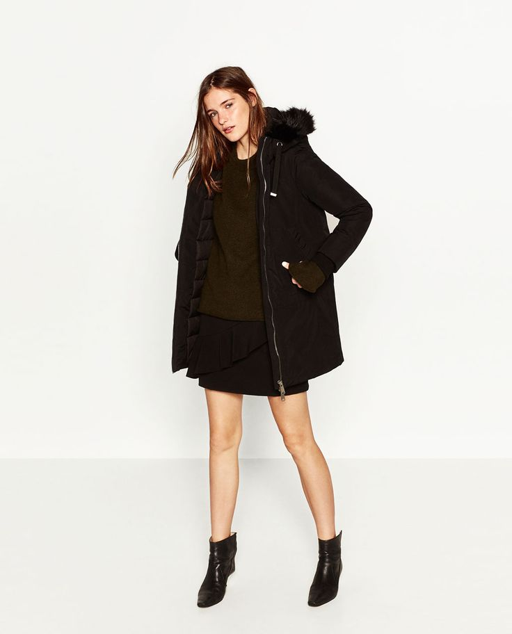 WATER REPELLENT PARKA-Coats-OUTERWEAR-WOMAN | ZARA United Kingdom