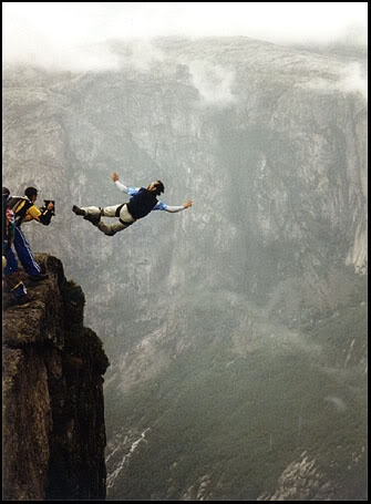 base jumping.. one day..