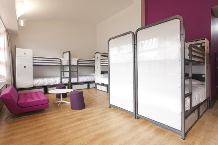 Female Shared Room at Generator Hostel Dublin