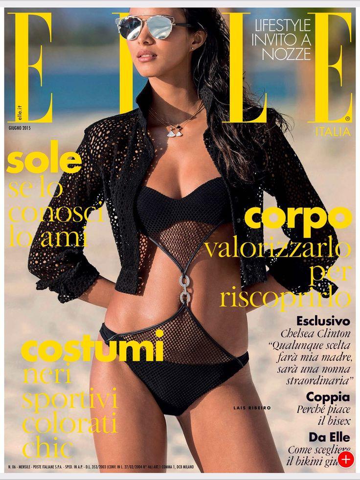 Lais Ribeiro for Elle Italia - June 2015