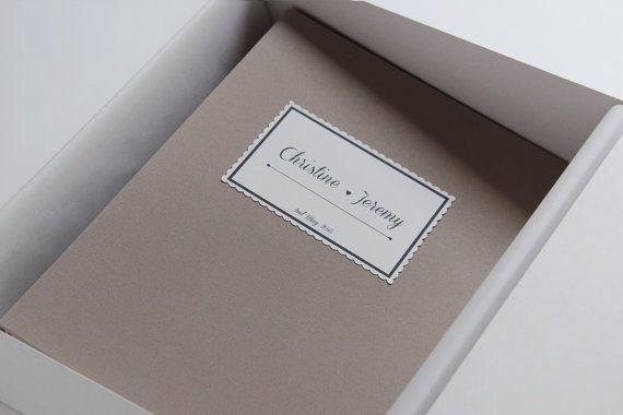 Latte Wedding Album Guest book Instax picture album por LiuMy