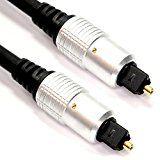 m-one 0,5Meter TOS link Toslink Optisches digitales Audio-Anschlusskabel für-Sonos Playbar Soundbar und Wireless Lautsprecher
