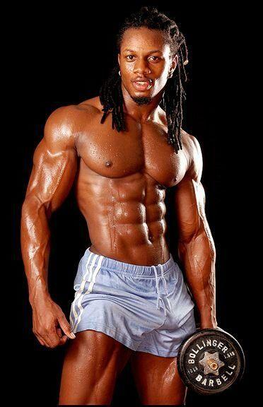 Fit Black Man