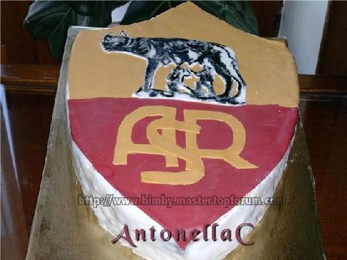 Torta scudetto Roma