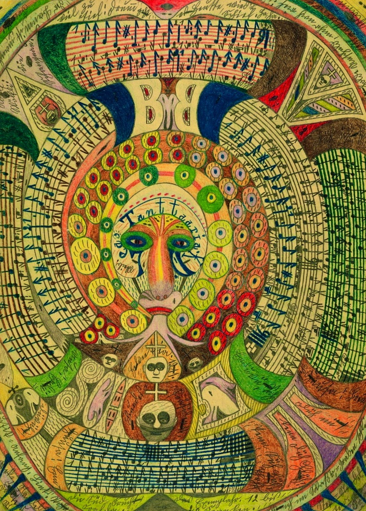adolf wölfli | Tumblr