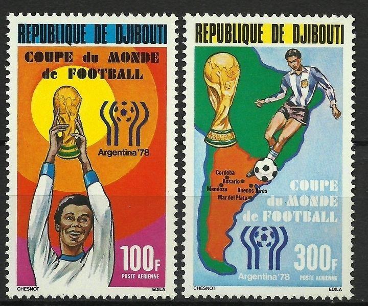 DJIBOUTI SPORT FOOTBALL COUPE DU MONDE ARGENTINE SOCCER FIFA CUP FUßBALL ** 1978  | eBay