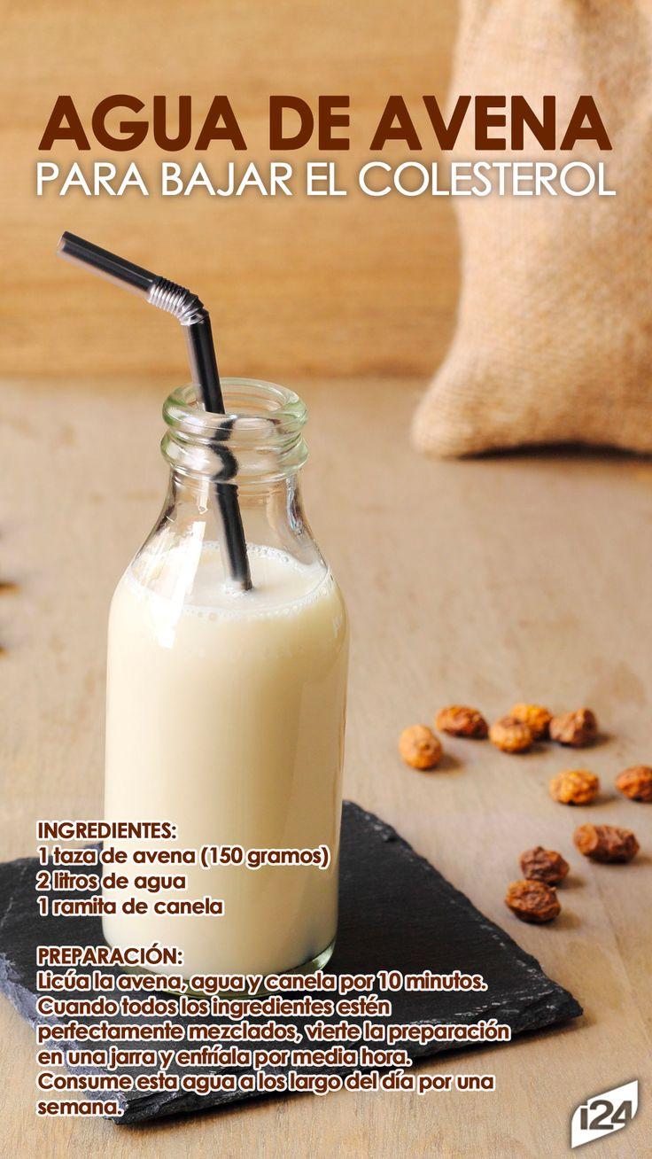 Deliciosa y muy fácil de hacer #Avena #Receta #Light #bebida