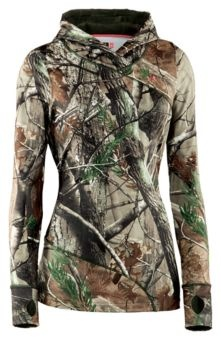 Under Armour® EVO Scent Control Hoody for Ladies - Long Sleeve | Bass Pro Shops. Need for hunting season!!