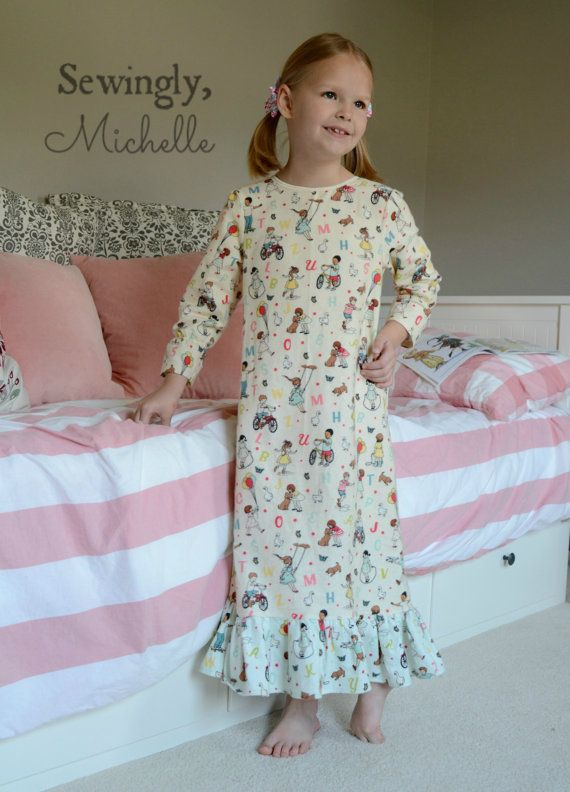 Simple summer dress pattern toddler pajamas