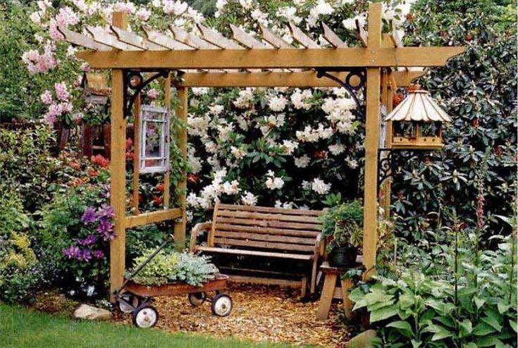 Do It Yourself Home Design: Pergola Plans, Popular Mechanics