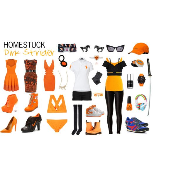 Homestuck Fashion: Dirk Strider by khainsaw on Polyvore featuring Dorothy Perkins, Alexander McQueen, JULIANA, Ralph Lauren Blue Label, Lord & Taylor, Roland Mouret, Hervé Léger, Hansel from Basel, MANGO and Marc by Marc Jacobs