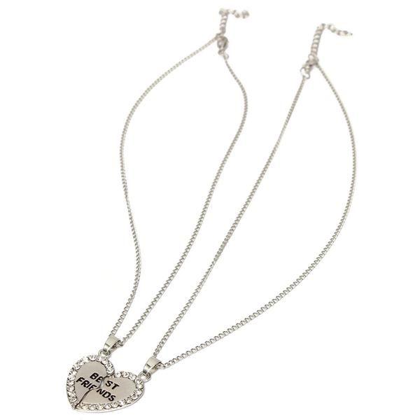 Broken Heart Best Friend Necklaces