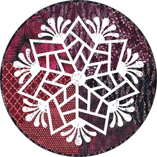 Scandinavian Snowflake, Quiltworx.com, Made by Quiltworx.com