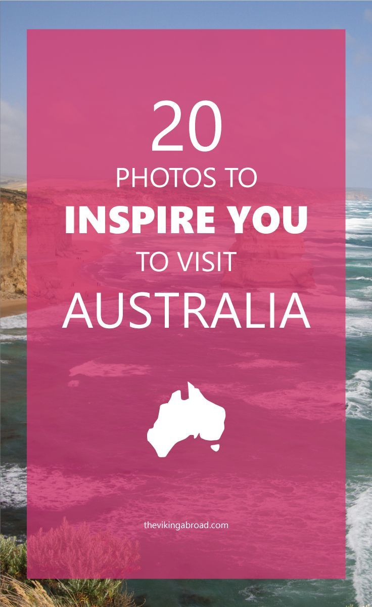 Here is a selection of 20 photos that will inspire you to visit Australia. I have collected all of this after living there for 3 years.