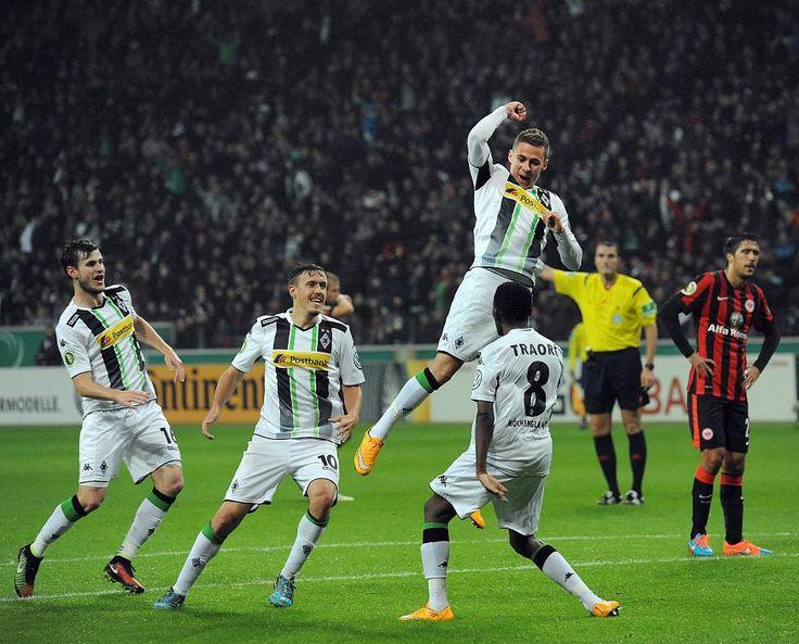 Eintracht Frankfurt-Borussia Mönchengladbach 1-2