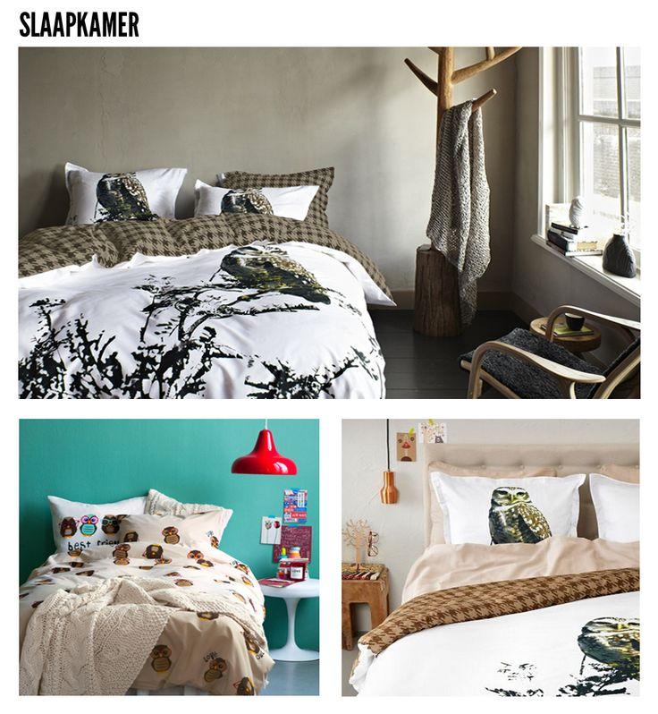 Uil slaapkamer - dekbedovertrek H Essenza
