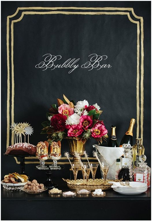 """Bubbly Bar"" - Champagne, Mimosa, & Sparkling Wine Bar.... everything good in life"
