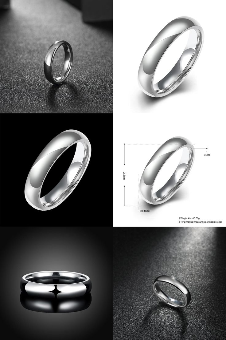 [Visit to Buy] Silver Color Stainless Steel Men's Fashion Man Ring Cool Man's High Polished Man's Wedding Ring Size 6 7 8 9 10 11 12 TGR002 #Advertisement