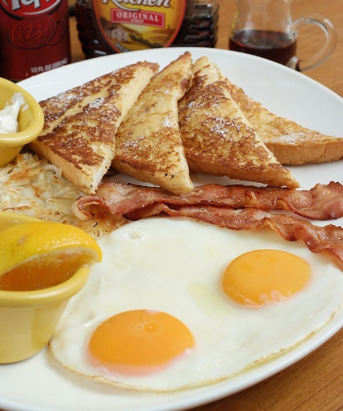 American breakfast the perfect start up for the day with for American continental cuisine